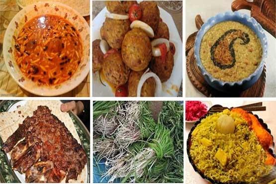 دنیای رنگین غذاهای سنتی کرمانشاه+ تصاویر