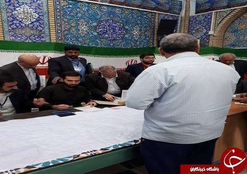 حضور مردم خوزستان پای صندوقهای رای